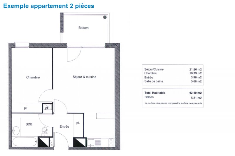Appartement neuf Saint-Jean - Photo 3