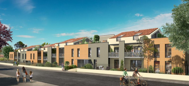 Appartement neuf L'union - Photo 1