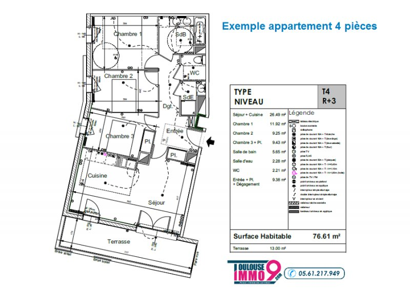 Appartement neuf Colomiers - Photo 7
