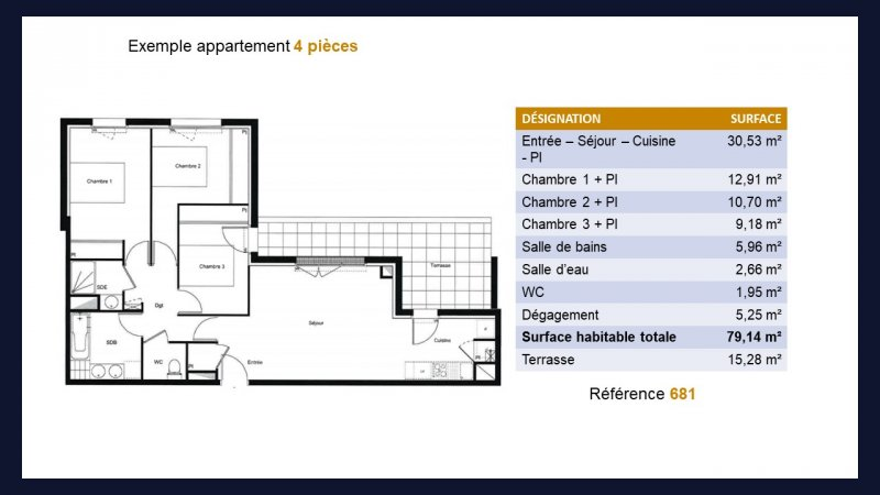 Appartement neuf Toulouse Roseraie - Photo 6
