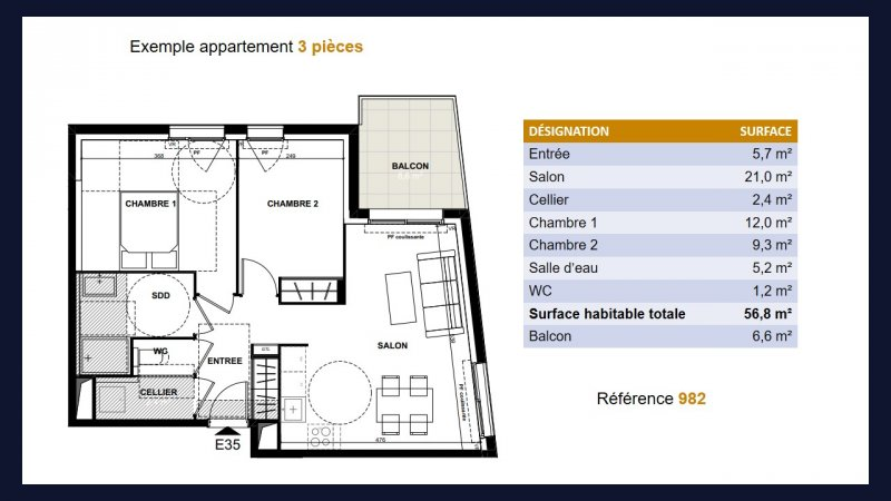 Appartement neuf Toulouse Jolimont - Photo 5
