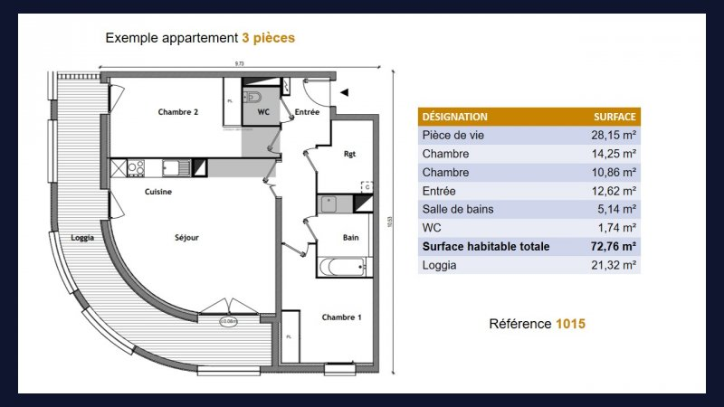 Appartement neuf Toulouse Saint Cyprien - Photo 5