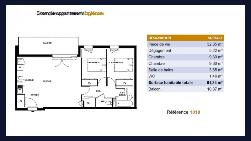 Appartement neuf Toulouse Lardenne - Photo 5