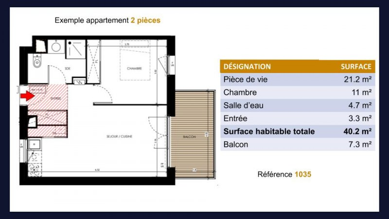 Appartement neuf Toulouse Lardenne - Photo 4