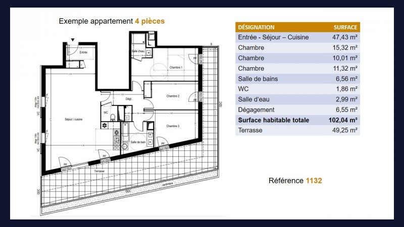 Appartement neuf Toulouse Lalande - Photo 6