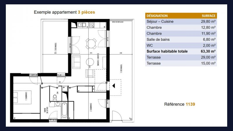 Appartement neuf Toulouse Saint Simon - Photo 6