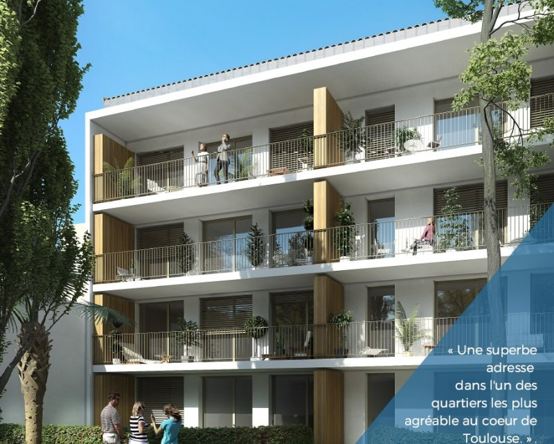 Appartement neuf Toulouse Busca - Photo 2