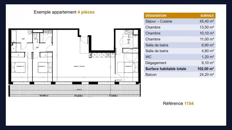 Appartement neuf Toulouse Busca - Photo 6